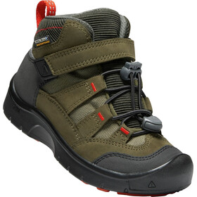 Keen Hikeport WP Mid Shoes Barn martini olive/pur